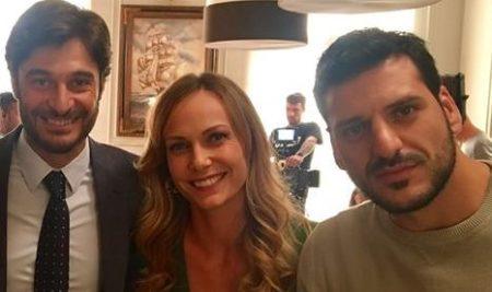 """MIRKO MARCELLI, sul set di """"Non Dirlo al Mio Capo 2"""" con Lino Guanciale e Sara Zanier"""